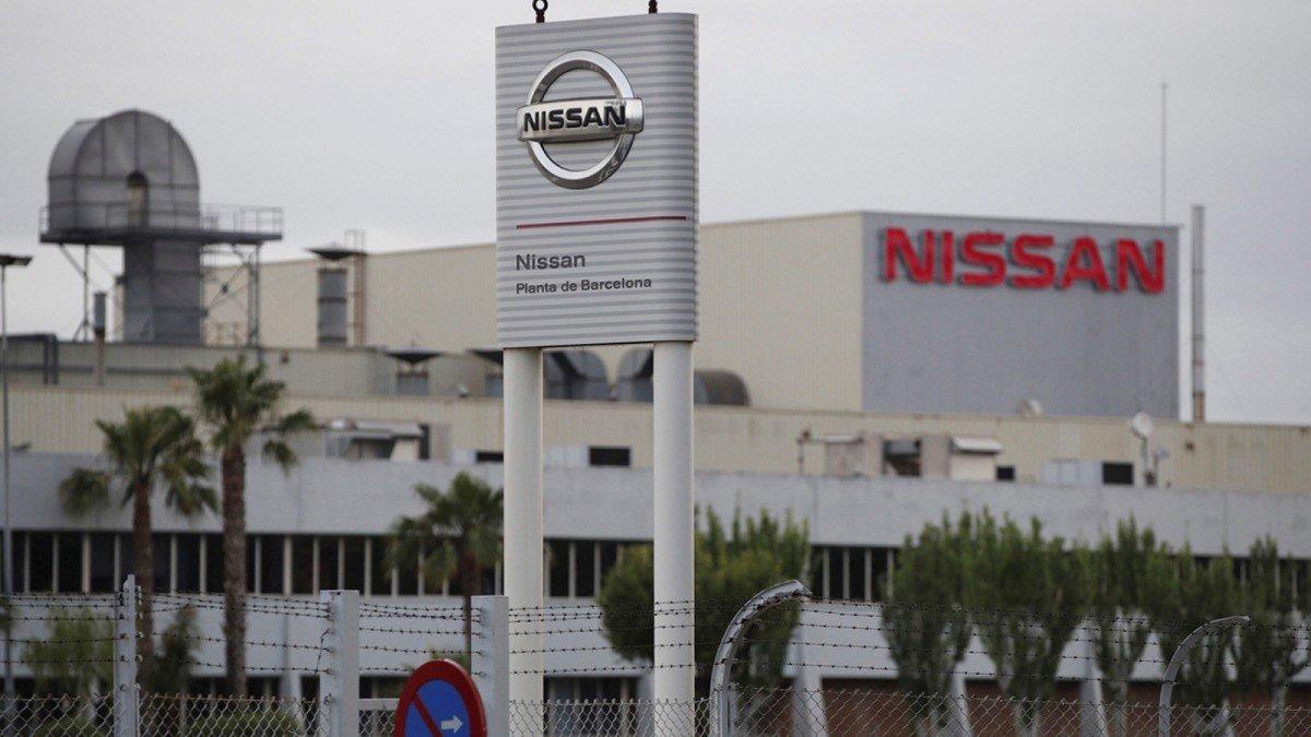 Planta de Nissan en Barcelona.