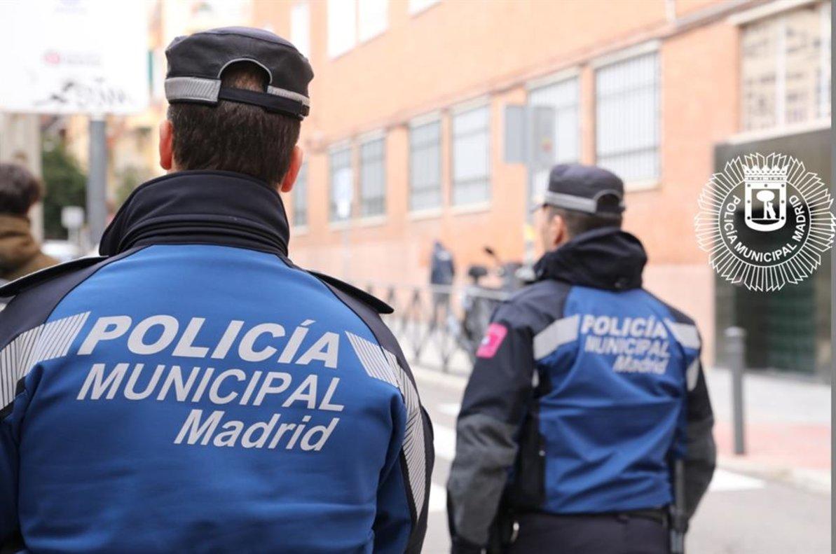 Agentes de la Policía Municipal de Madrid.