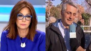 """Tensión entre Ana Rosa y el portavoz de los taxistas: """"Solo falta que me digas de qué tengo que hablar en mi tertulia"""""""
