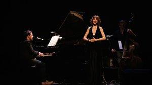 Andreu Gallén y Anna Moliner, en un momento del espectáculo.