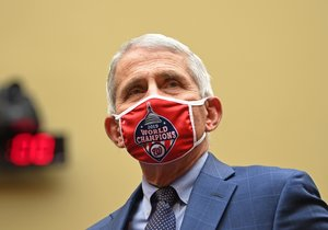 Anthony Fauci, director of the US National Institute for Allergy and Infectious Diseases, arrives to testify before the House Subcommittee on the Coronavirus Crisis on Capitol Hill in Washington, DC on July 31, 2020. (Photo by KEVIN DIETSCH / Pool / AFP)