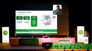 Asamblea General de la cooperativa de supermercados Covirán celebrada este domingo.
