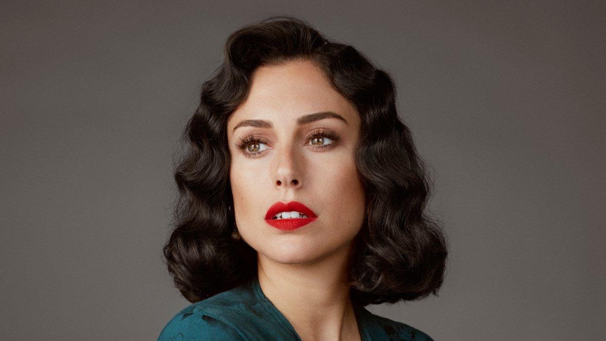 Blanca Suárez, caracterizada para 'Las chicas del cable'.