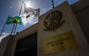 La embajadaa de Brasil en Venezuela.