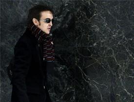El cantant José Ramón Márquez, 'Ramoncín', a l'arribar aquest matí a l'Audiència Nacional.