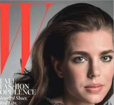Carlota Casiraghi, la hija de Carolina de Mónaco, protagoniza la portada de W Magazine.