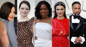 Charlize Theron, Emma Stone, Regina King, Rachel Weisz y Billy Porter, algunos de los modelos más comentados de los Oscar 2019.