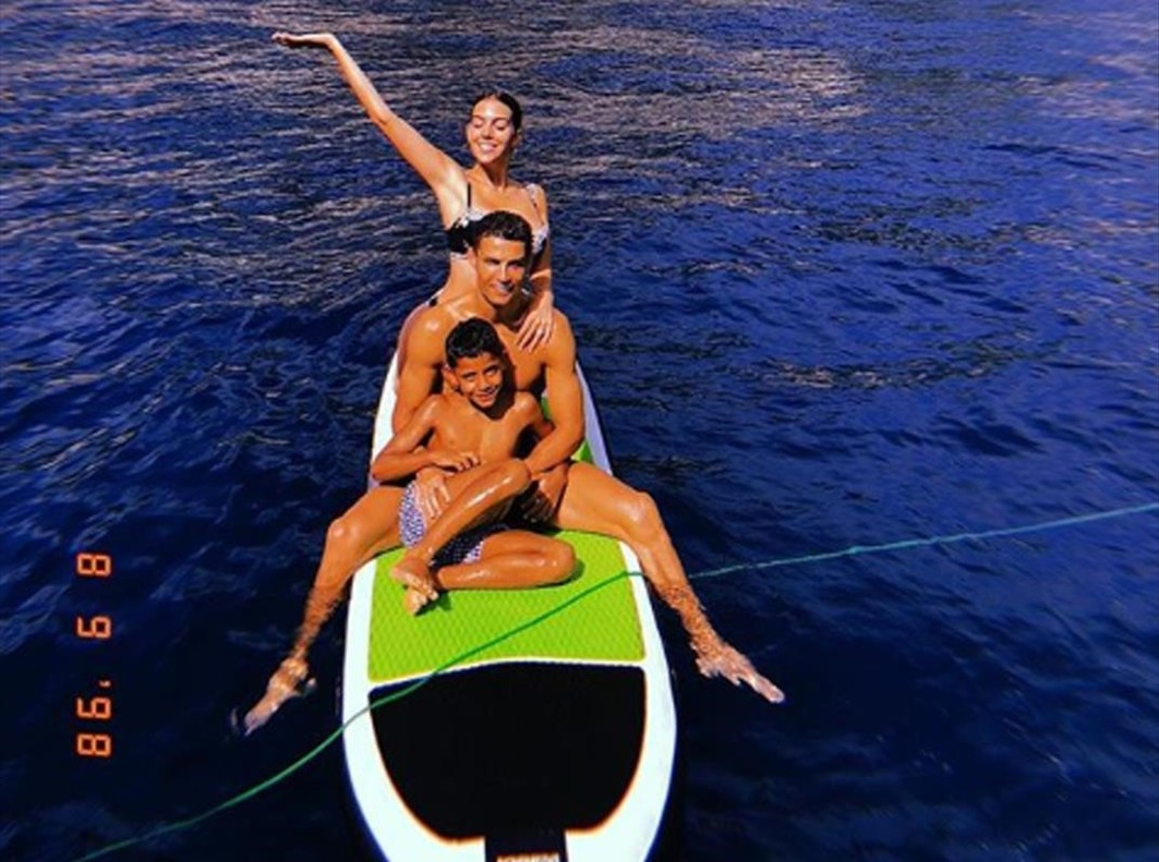 Cristiano y su familia disfrutan de una escapada a Mónaco.