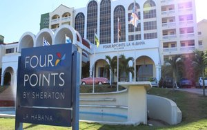 El hotelFour Points by Sheraton de La Habana.