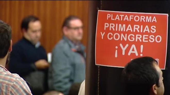 Cumbre de los críticos con la gestoradel PSOE para definir una estrategia