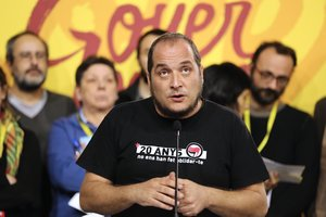 David Fernàndez: «Si la negociació PSOE-ERC fracassa, caldrà fer un altre 1-O»