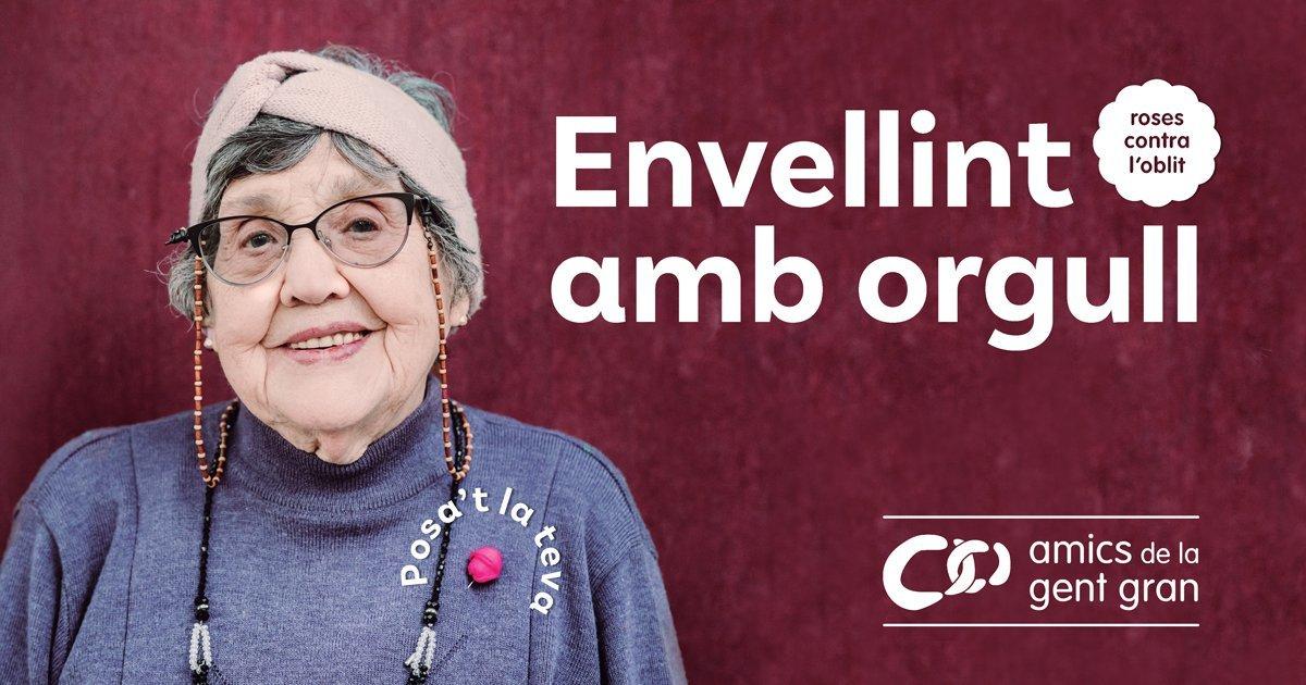 Imagen de la campaña 'Envellint amb orgull'.
