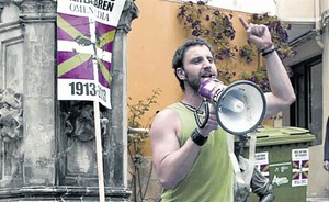 Dani Rovira, en un fotograma de Ocho apellidos vascos.SPgB