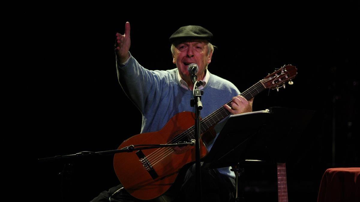 Daniel Viglitetti, en el año 2010 en Luz de Gas.
