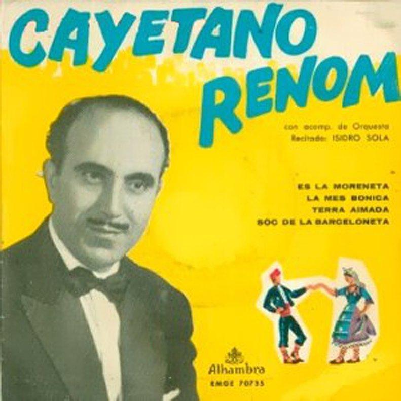 'És la Moreneta', disco de Cayetano Renom.