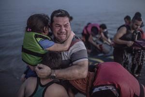 La fotografia icónica de la crisis de los refugiados, tomada en la isla de Kos, en Grecia, el pasado 15 de agosto.