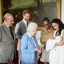El duque de Edimburgo, la reina Isabel y la madre de Meghan Markle conocen al hijo de los duques de Sussex, a principios de mayo.