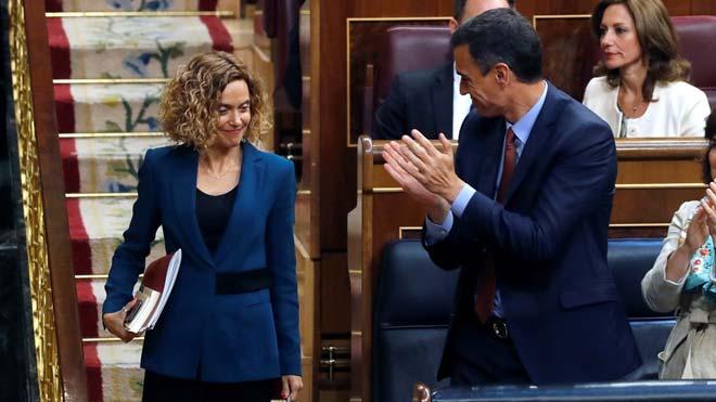 Sánchez es reunirà amb Batet el pròxim dimarts per fixar la data d'investidura