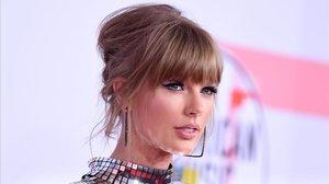 Taylor Swift, en una gala en Los Ángeles, en octubre pasado.