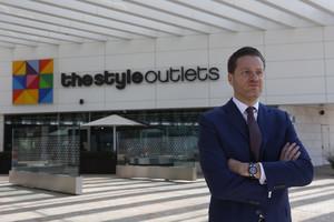 Eduardo Ceballos, director de Neinver en España, empresaque gestiona Viladecans The Style Outlets.