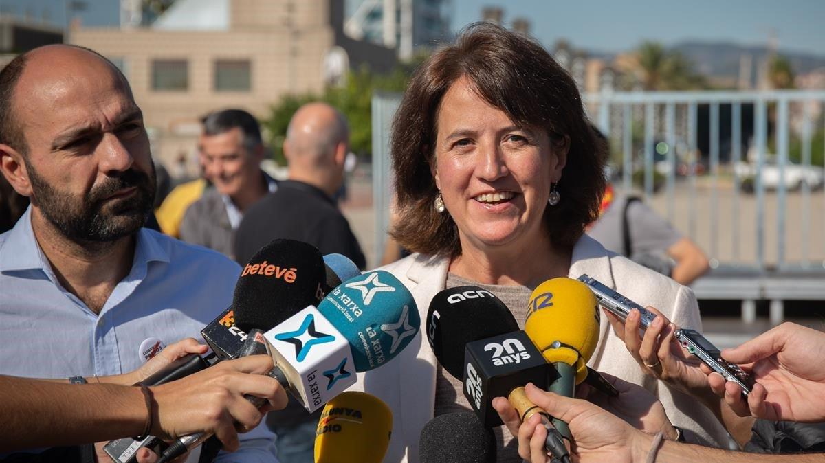 Elisenda Paluzie,presidenta de la Asamblea Nacional Catalana (ANC)