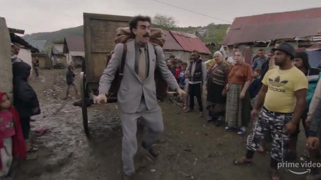 Estrenos de la semana. Tráiler de 'Borat 2'.