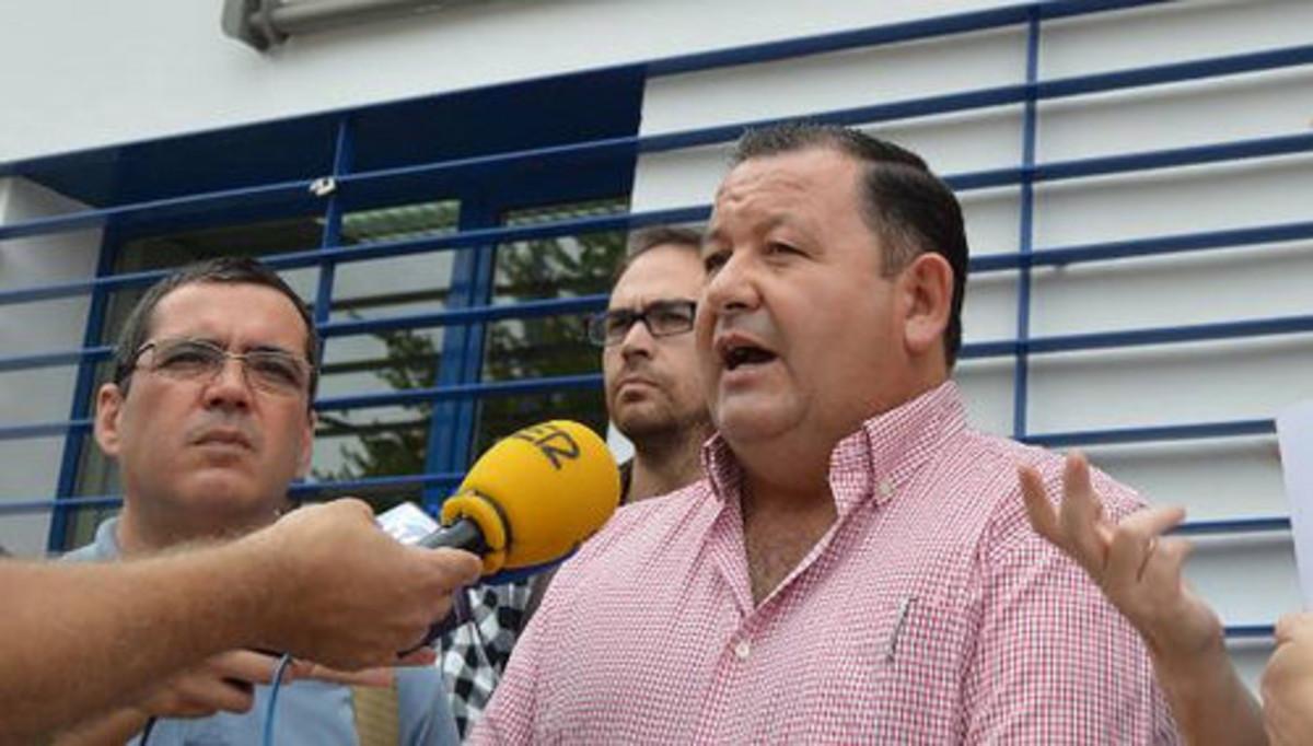 Fidel Romero, alcalde de La Roda de Andalucía.