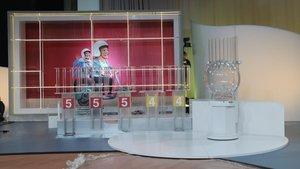 Plató de TV3 donde se celebra el sorteo de la Grossa de Cap d'Any.