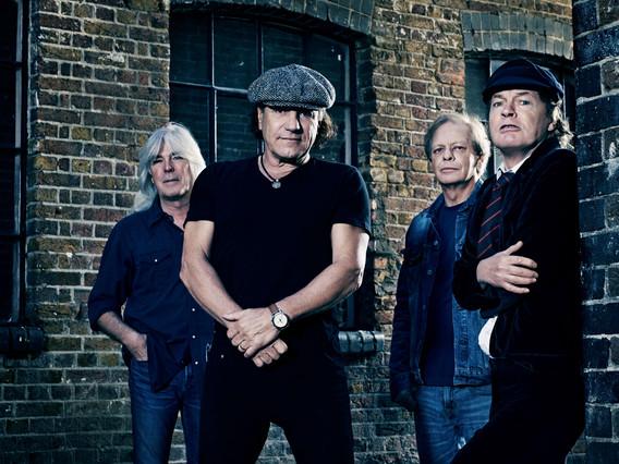 El grupo australiano AC/DC.
