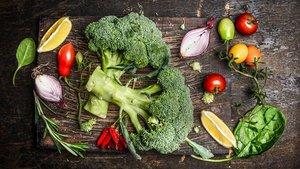 Grupo de verduras.