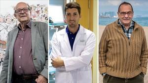 Ibáñez, Mitjà y Pousa, los tres candidatos que siguen en liza en el Català de l'Any 2016.