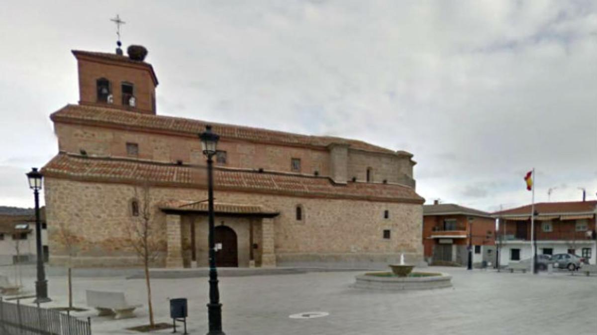 Imagen de la Parroquia de San Juan Evangelista, en Quijorna, protagonista de los altercados ligados al franquismo