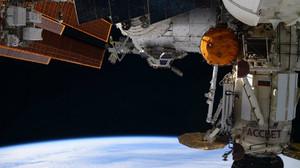 Imagen de la Tierra desde la Estación Espacial Internacional.