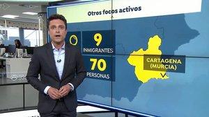 """Polémica por un rótulo de 'Antena 3 Noticias' que distingue entre """"personas"""" e """"inmigrantes"""""""