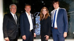 Inauguración del tercer espacio Lexus Barcelona.