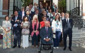 Grande-Marlaska defensa la unió en la seva reunió amb les víctimes del terrorisme