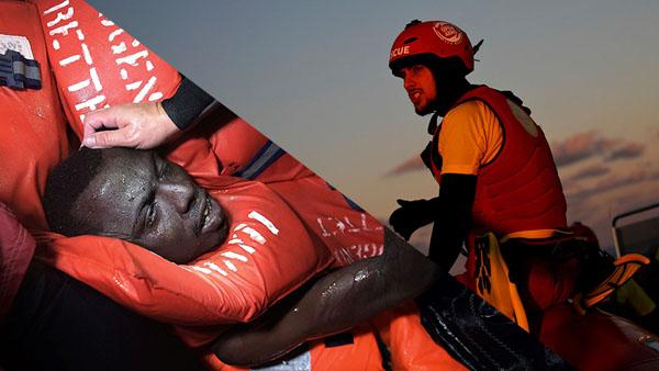 Italia detiene el barco de Proactiva Open Arms acusándolo de promover la inmigración.