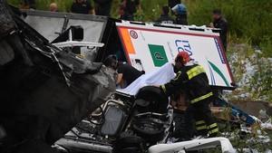 Aquestes són les imatges més impactants de l'accident de Gènova