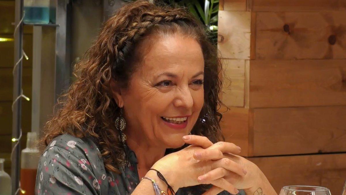 Josefa en 'First Dates'.