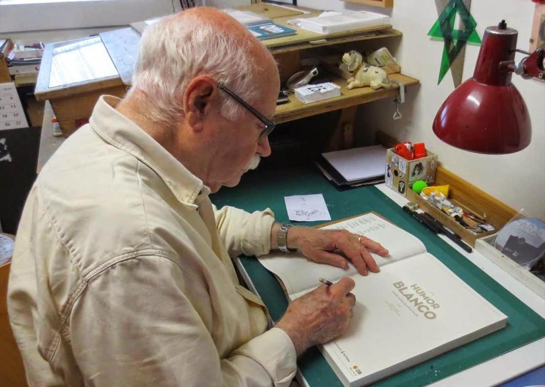 Josep Maria Blanco, histórico dibujante del 'TBO', Gran Premio del Salón del Cómic de Barcelona.