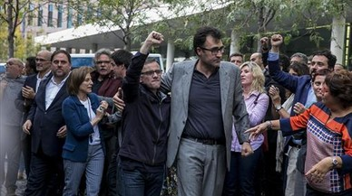Multa a dos exaltos cargos del Govern por intentar apartar al juez del 1-O