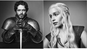 Los personajes de la serie 'Juego de tronos' Robb Stark y Daenerys, los preferidos por los fans españoles.