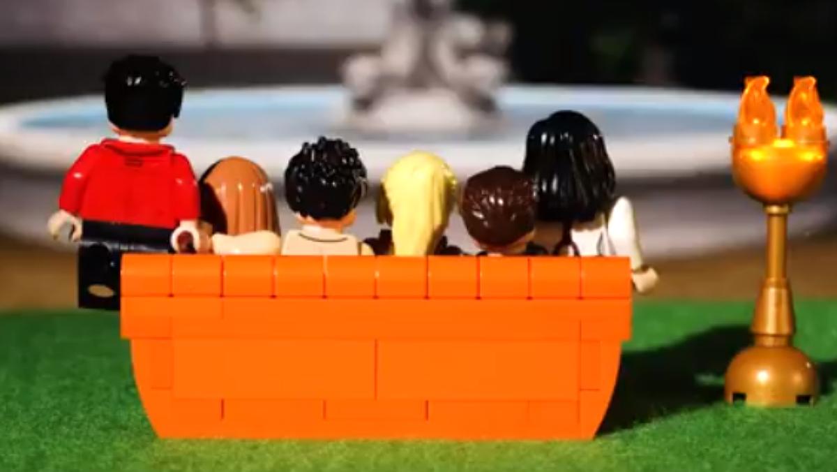 Lego ha anunciado que sacará una colección sobre la serie 'Friends'.
