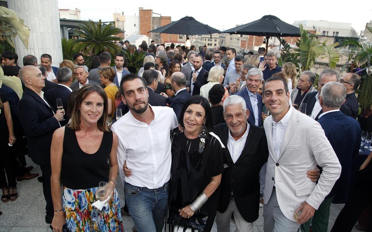 María Cabré, Koke Clos, Montse Casellas, Jordi Clos y Joaquim Clos.