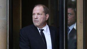 Harvey Weinstein, a su llegada a la Corte Suprema de Nueva York.