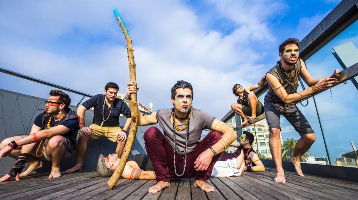 Los músicos de Doctor Prats en una imagen promocional