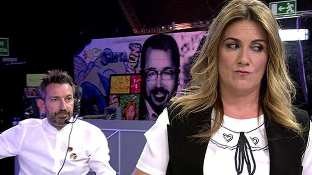 """La pulla de Carlota Corredera a la cúpula de 'Sálvame': """"Me echaron del grupo de WhatsApp de directores"""""""