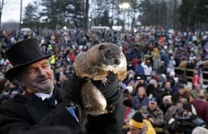 Día de la Marmota 2018: Phil pronostica seis semanas más de invierno tras ver su sombra