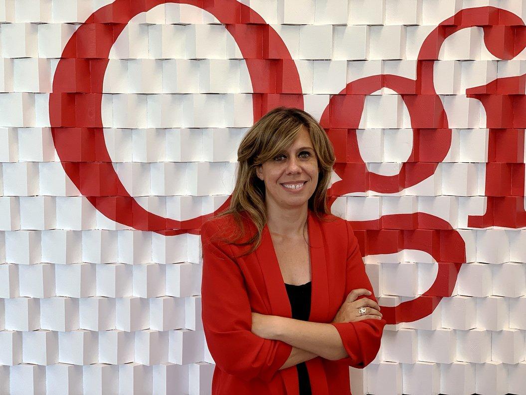 Marta Gutiérrez, consejero delegada de Ogilvy en Madrid y vicepresidenta del grupo en España.