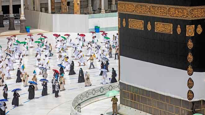 Comença la gran peregrinació a la Meca, amb importants restriccions sanitàries